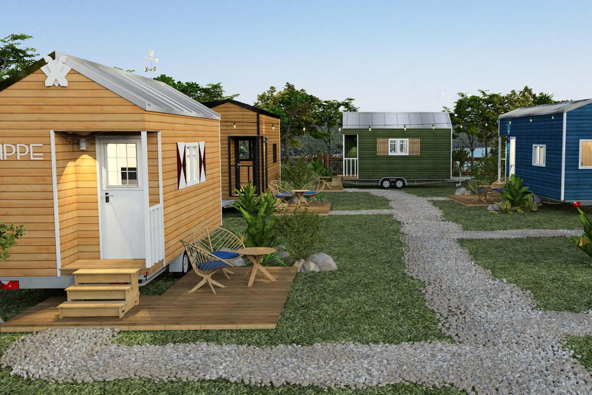 Tiny House Hotel - Pier9